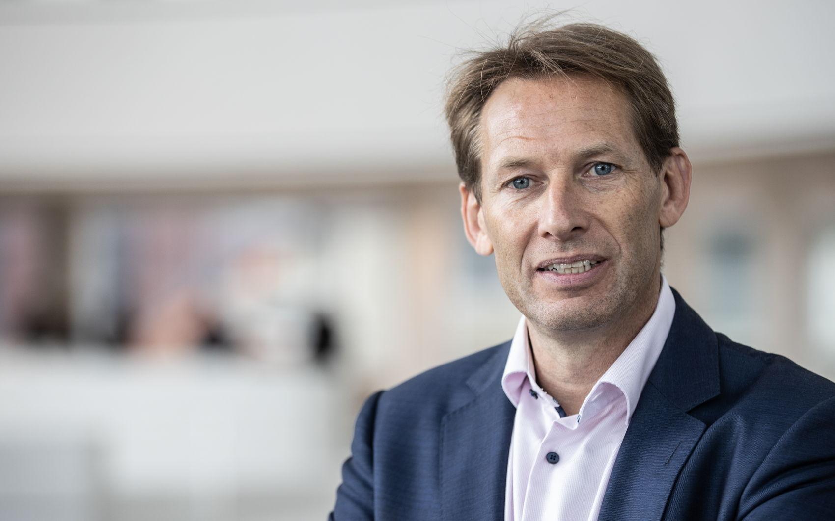 Bas Evers, directeur ENGIE Ventures & Solutions, één van de partners van Warmtebron Utrecht.