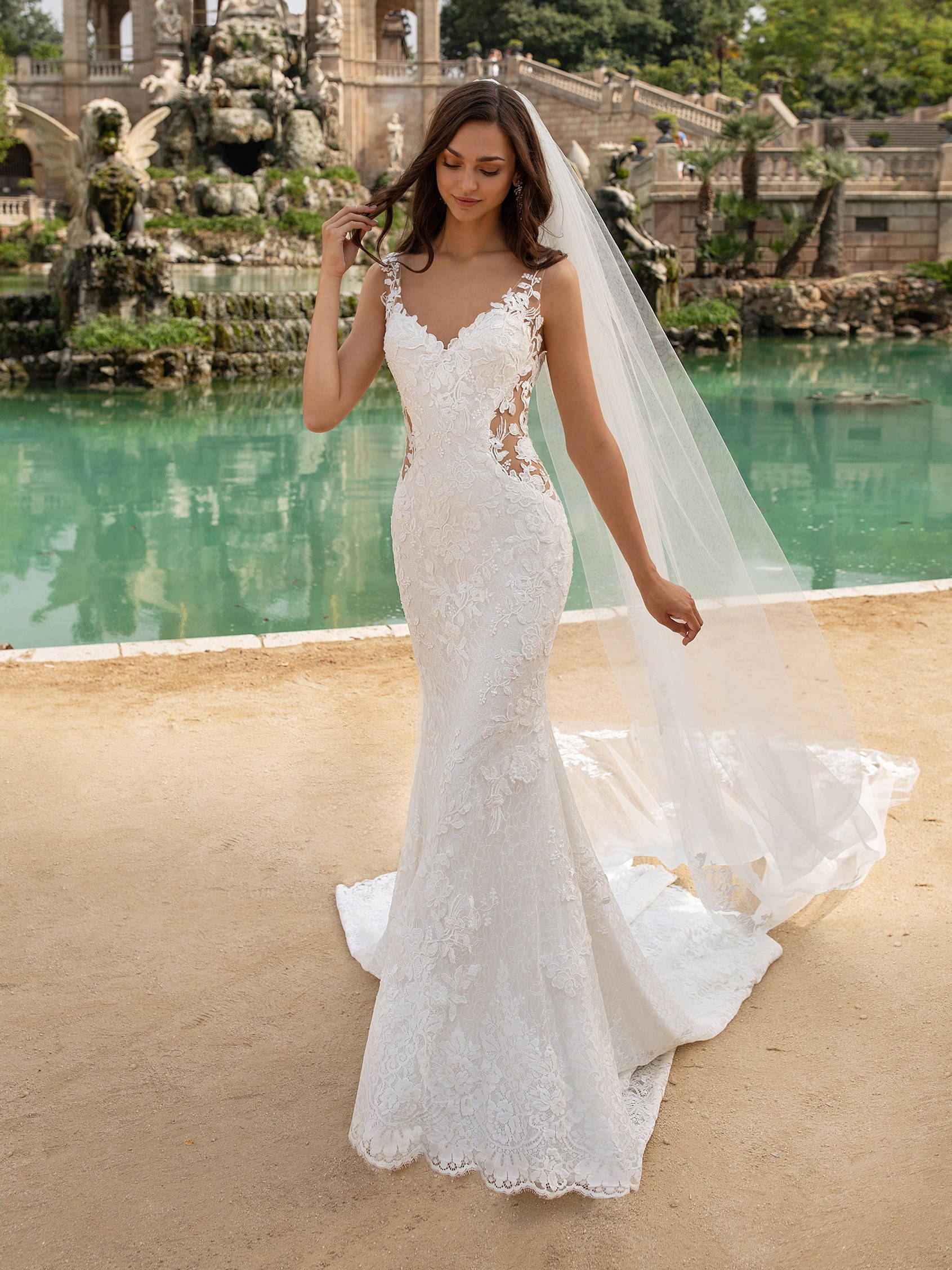 PRONOVIAS epico WEDDING DRESS