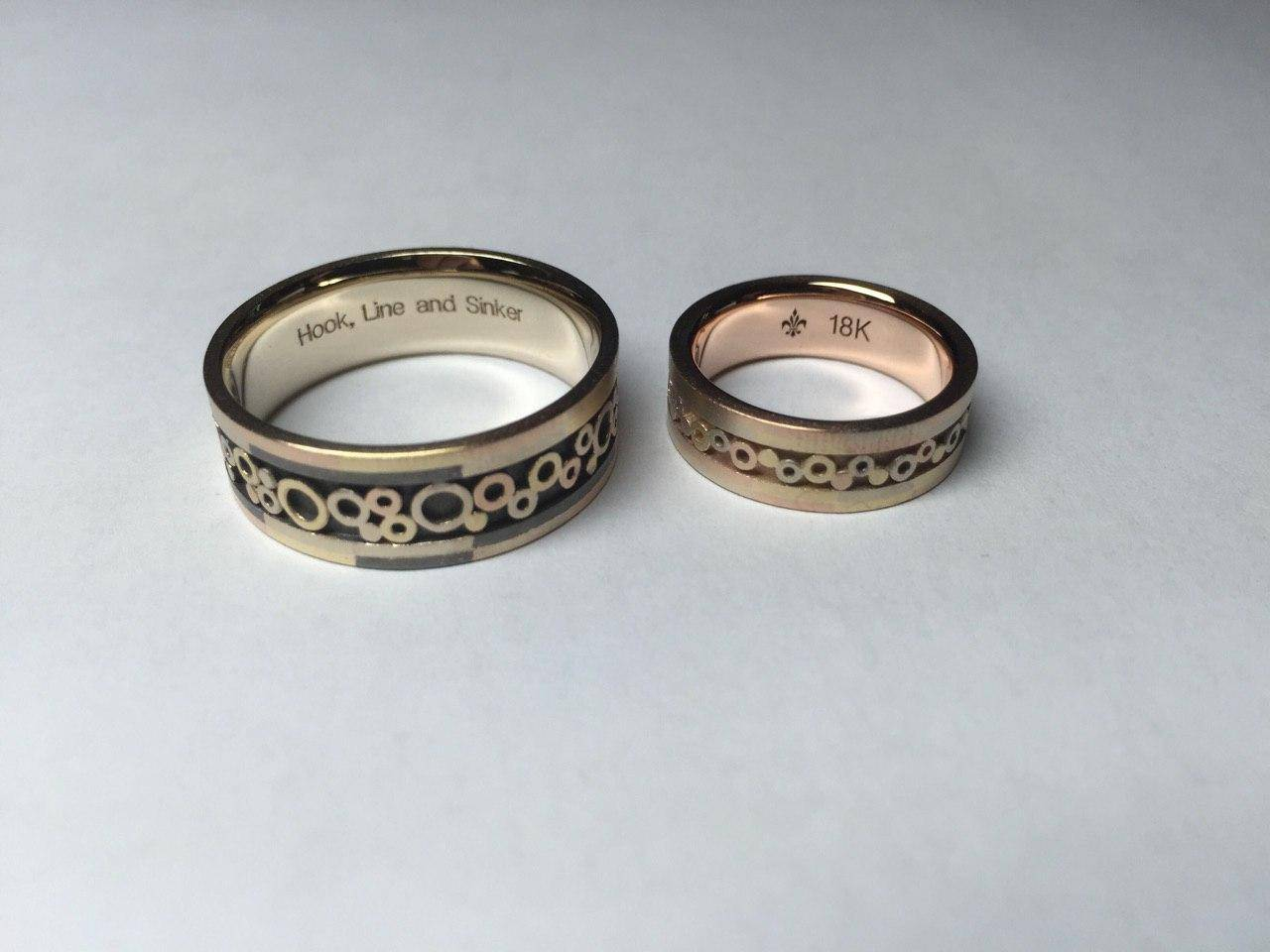 Mr. Pool and Grace`s wedding rings