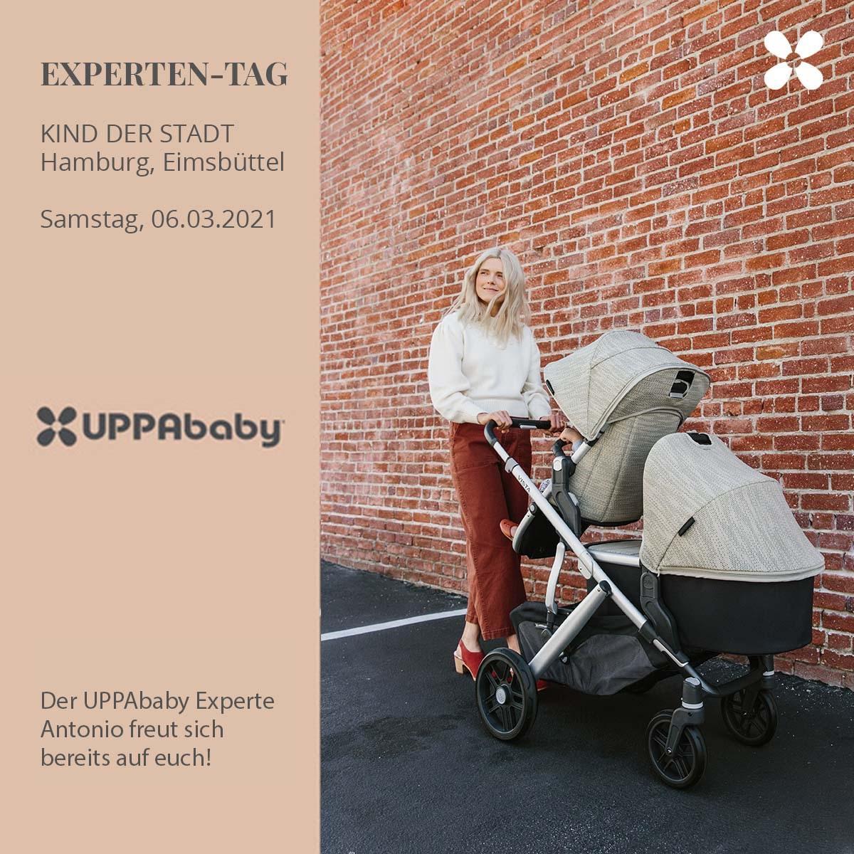 UPPABABY Experten-Tag bei KIND DER STADT Hamburg