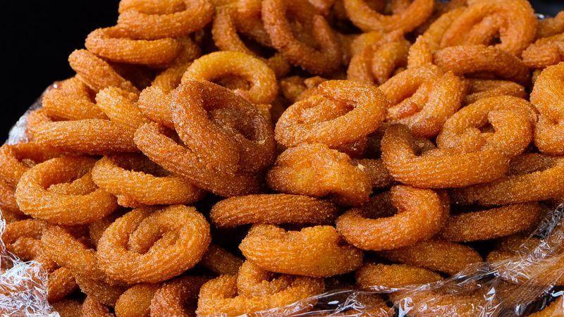 Local sweets, street food, Jordan