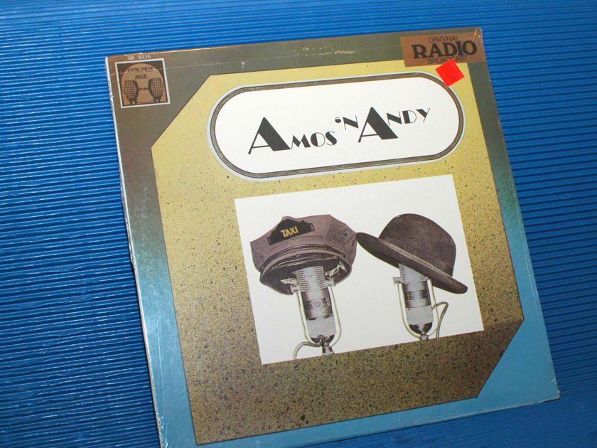 "AMOS 'N ANDY   - ""Original Radio Broadcasts"" -  Golden Age Records 1981"