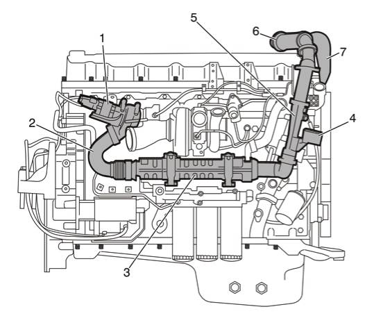 volvo d12 engine parts