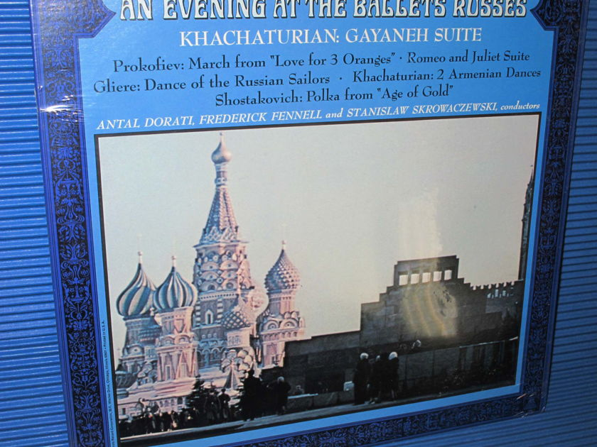 "KHACHATURIAN/PROKOFIEV/GLIERE/Dorati etc - - ""An Evening At The Ballets Russes"" -  Mercury Wing 1968 SEALED"