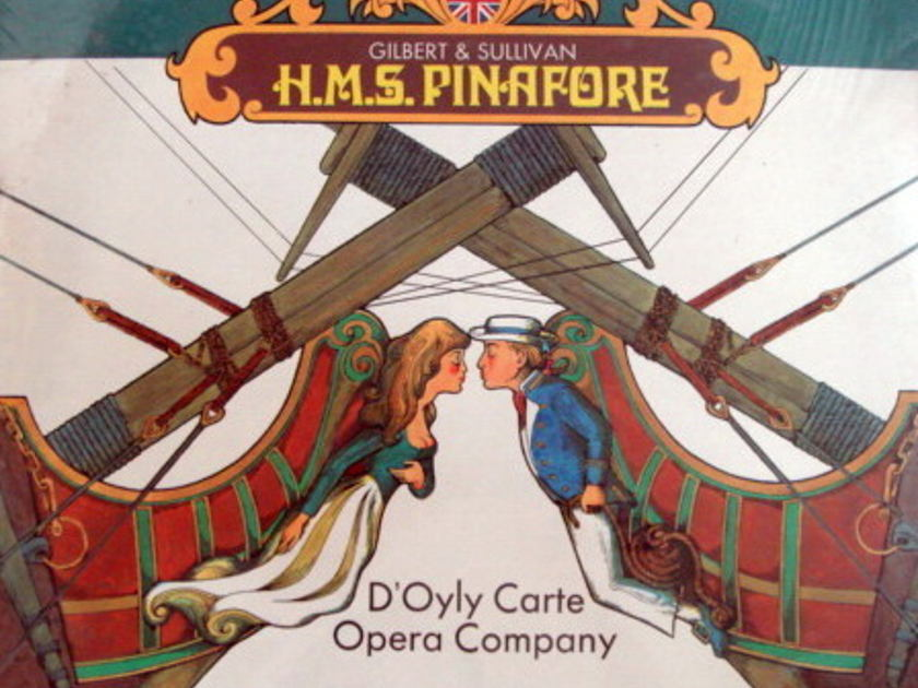 ★Sealed★ London-Decca / - Gilbert & Sullivan HMS Pinafore, 2LP Set!