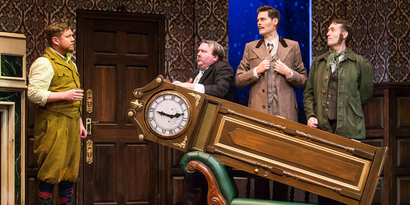 The Play That Goes Wrong at the Shubert Theatre