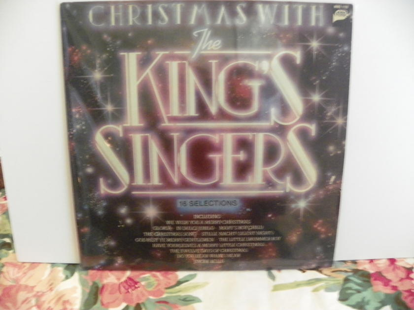 THE KING SINGERS - CHRISTMAS WITH Recorded at Abby Road Studio