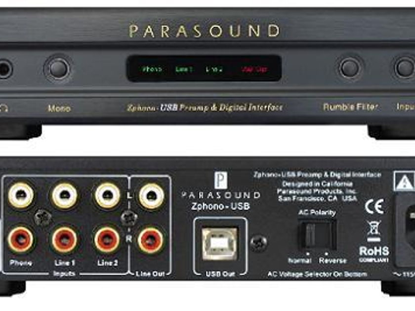 Parasound Zphone USB Phono-Preamp