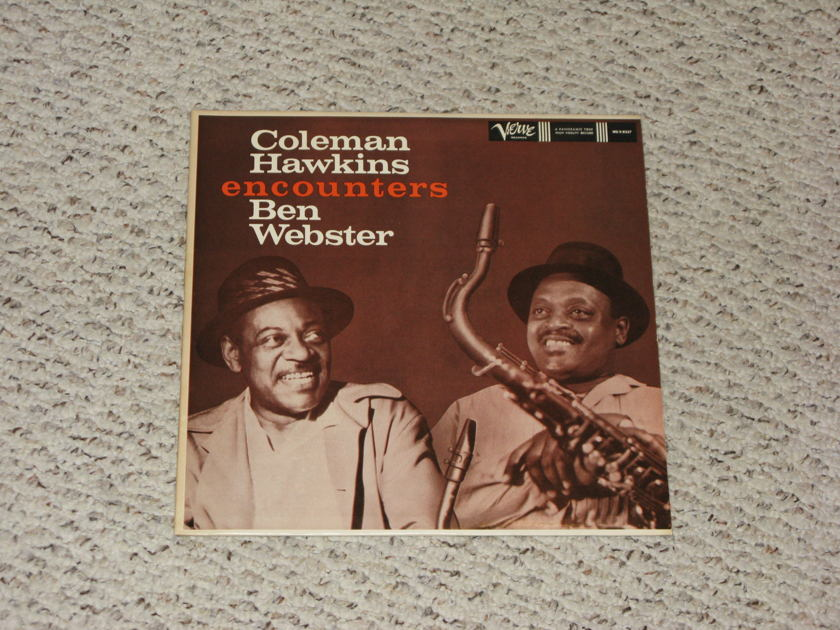 Coleman Hawkins - Encounters Ben Webster Original Verve Stereo Pressing!