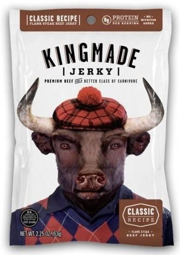 Kingmade Beef Jerky Flank Steak JerkyGent