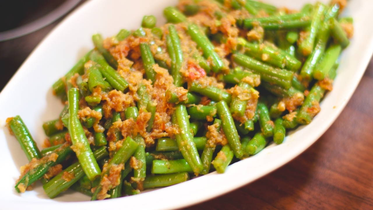 French Beans Belacan