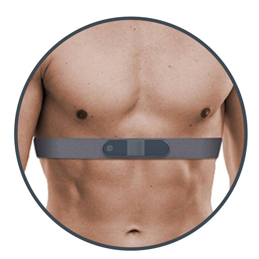 가슴 스트랩이 있는 ECG 모니터, 홀터 레코더, 24 홀터 모니터 착용,