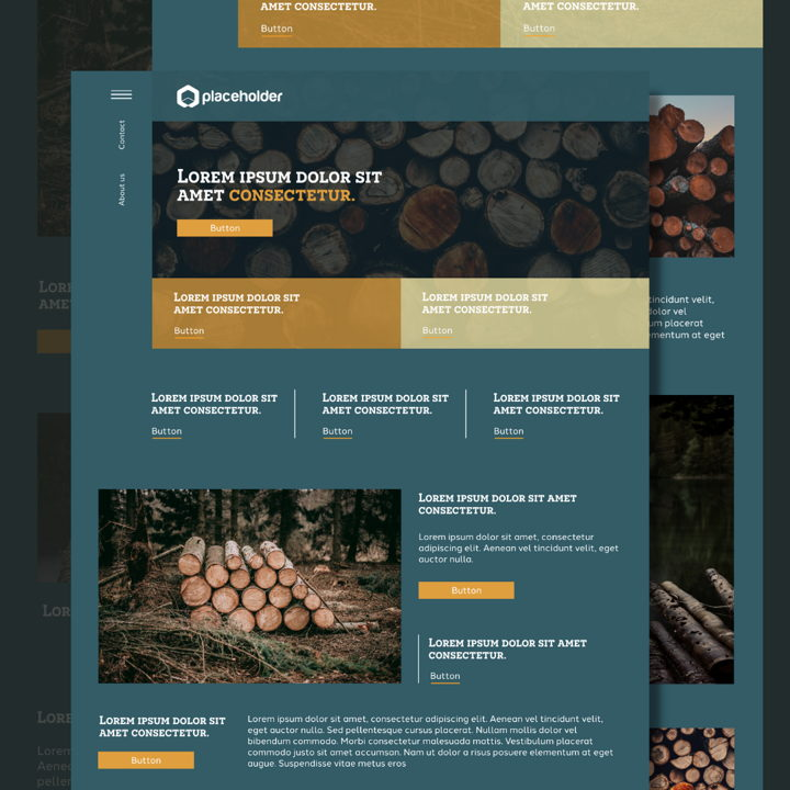 Lumber template's featured image