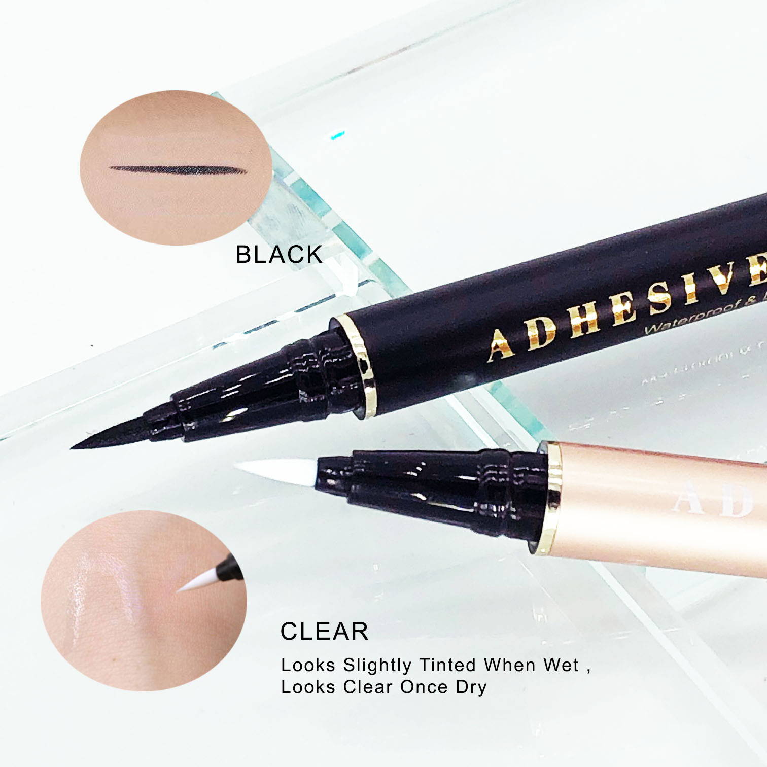 Linerbond lash adhesive eyeliner , Flick and stick , self adhesive eyeliner , quick lash adhesive liner , lolas cosmetics , velour lashes , adhesive eyeliner pen , clear adhesive eyeliner , lash glue eyeliner pen , kiss , velour lashes , lash and go , lola lashes