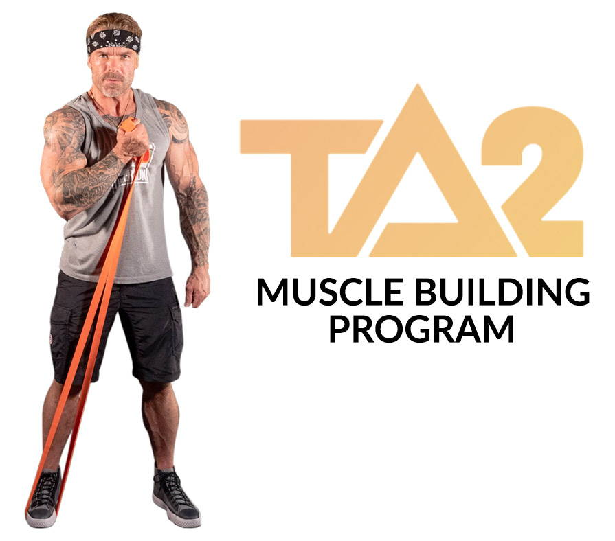 Resistance band muscle building workout with James Grage