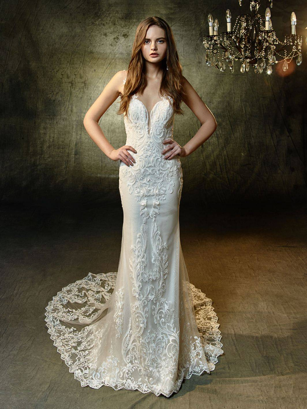 ENZOANI WEDDING DRESS LUNAIRE