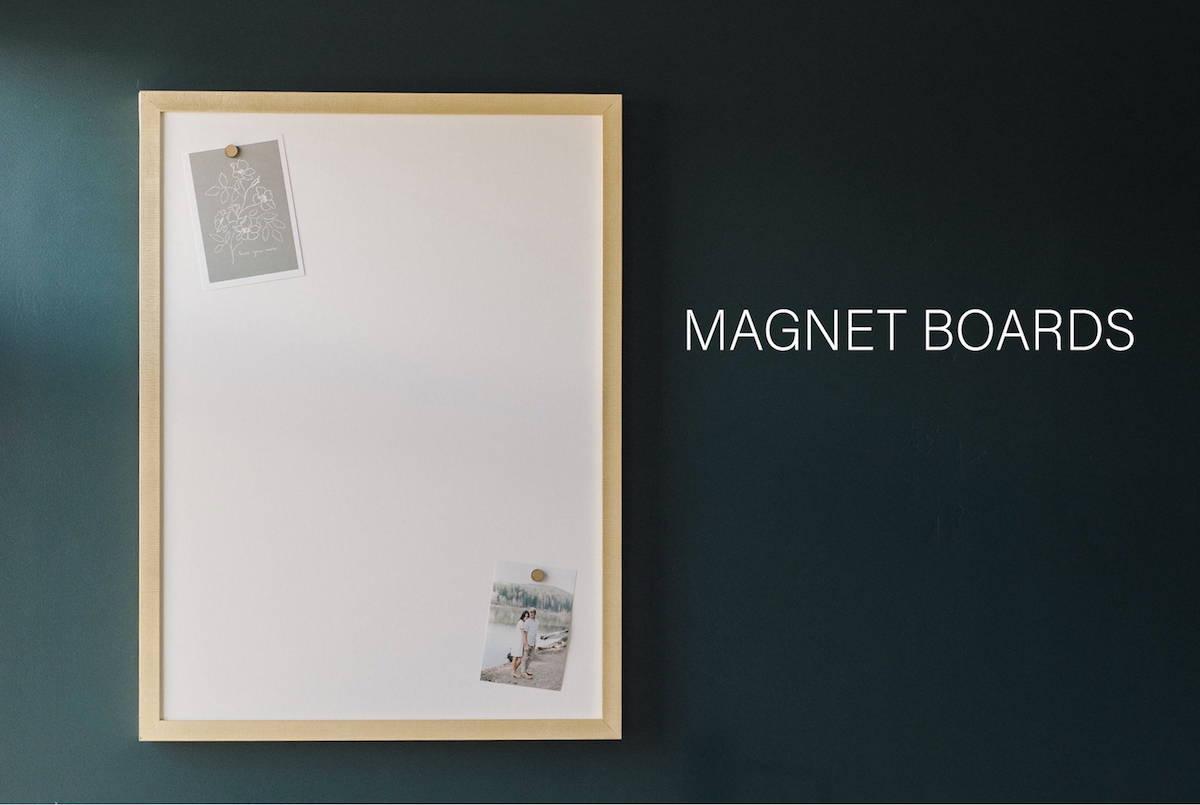 magnet board home decor
