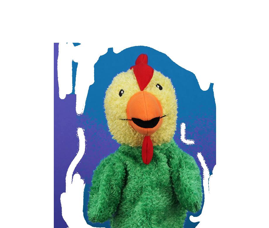 Primrose Kindergarten initial puppet