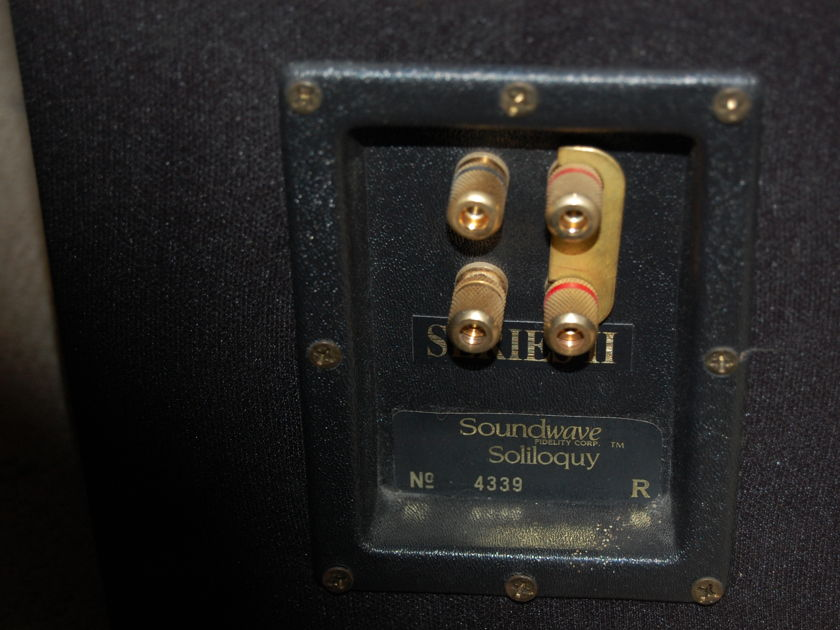 Soundwave Fidelity Corp Soliloquy Series II Point Source Loudspeakers