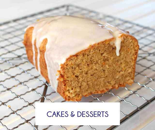 Gluten Free Cake and Dessert Recipes - Happy Tummies