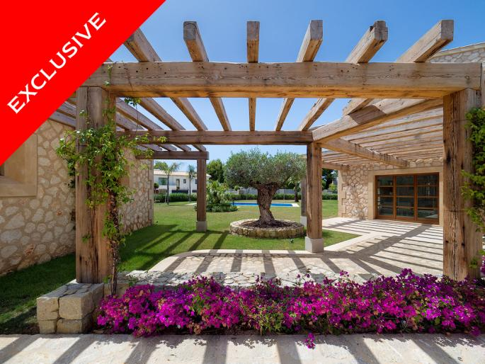 Newly built villa in finca style in Santa Ponsa