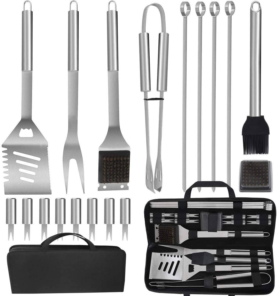 Portable grilling kit