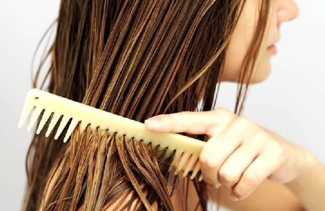 girl combing head photo gva hair