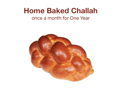 Homebaked Challah for a Year