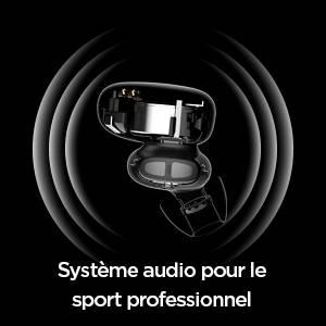 Amazfit Powerbuds - Système audio pour le sport professionnel. Membrane composite haut de gamme