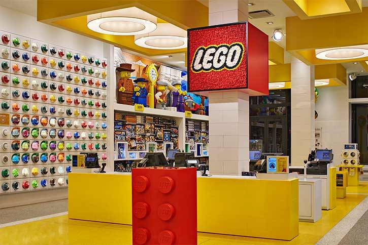 The LEGO store Freehold