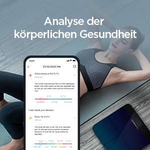 Amazfit Smart Scale - Analyse der körperlichen Gesundheit