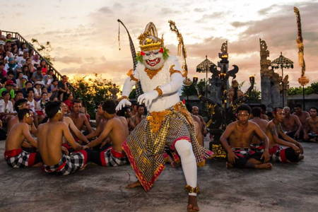 Balinese Sunset Dance Performance