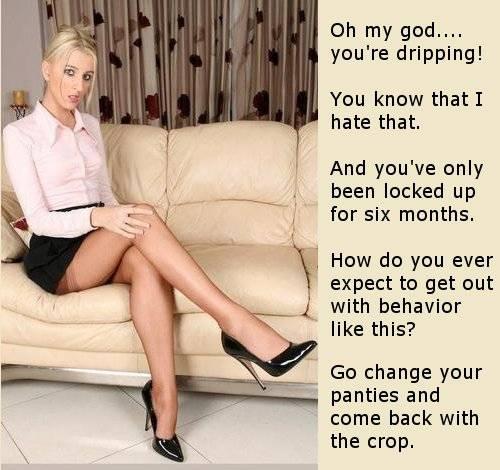 Chastity caption 100