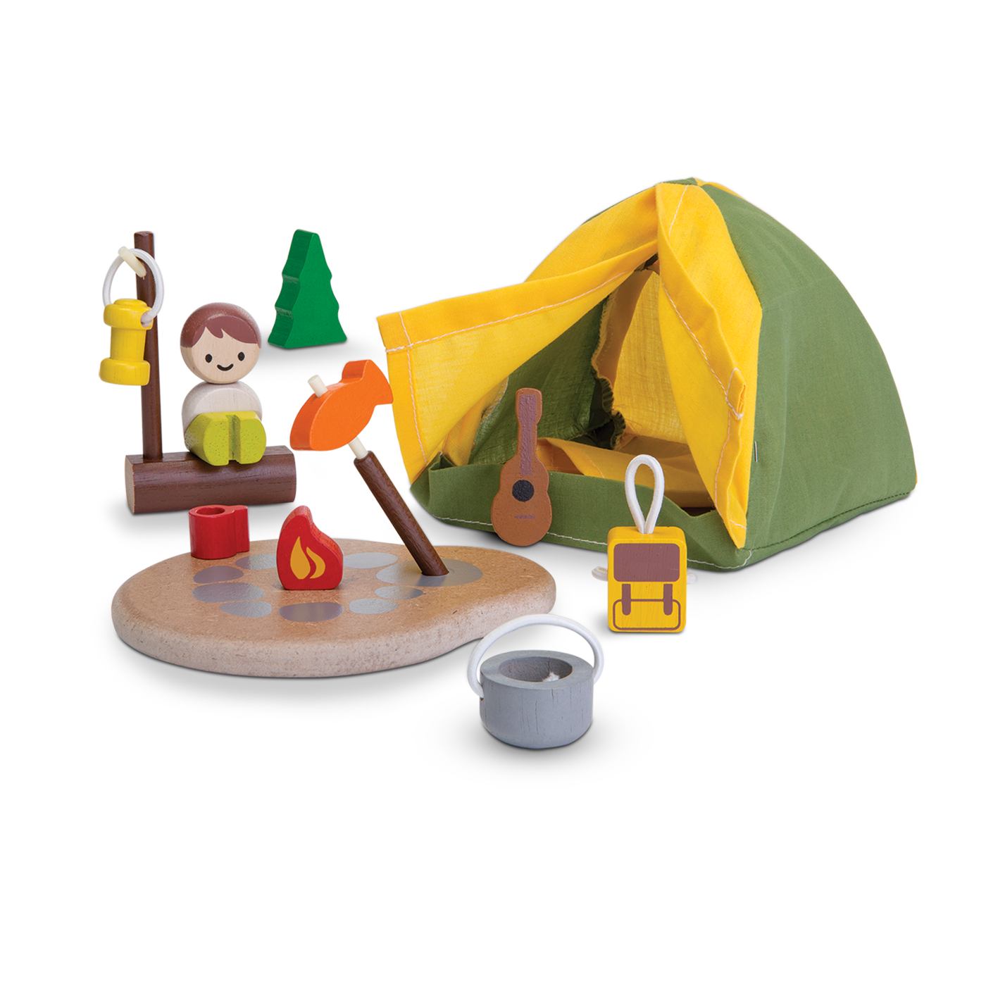 Wooden Toys Camping Set by Plan Toys