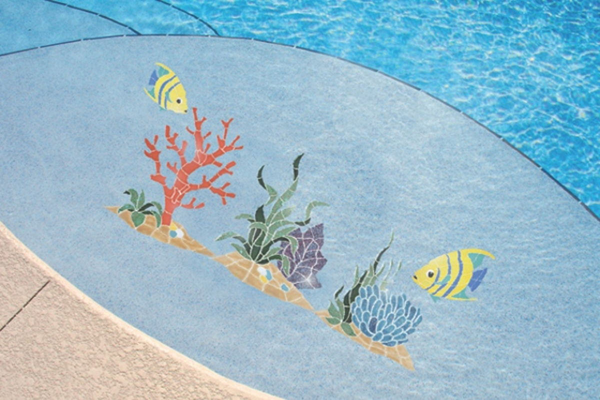 RANBLUOM - Reef Accent Anemone Pool Mosaic