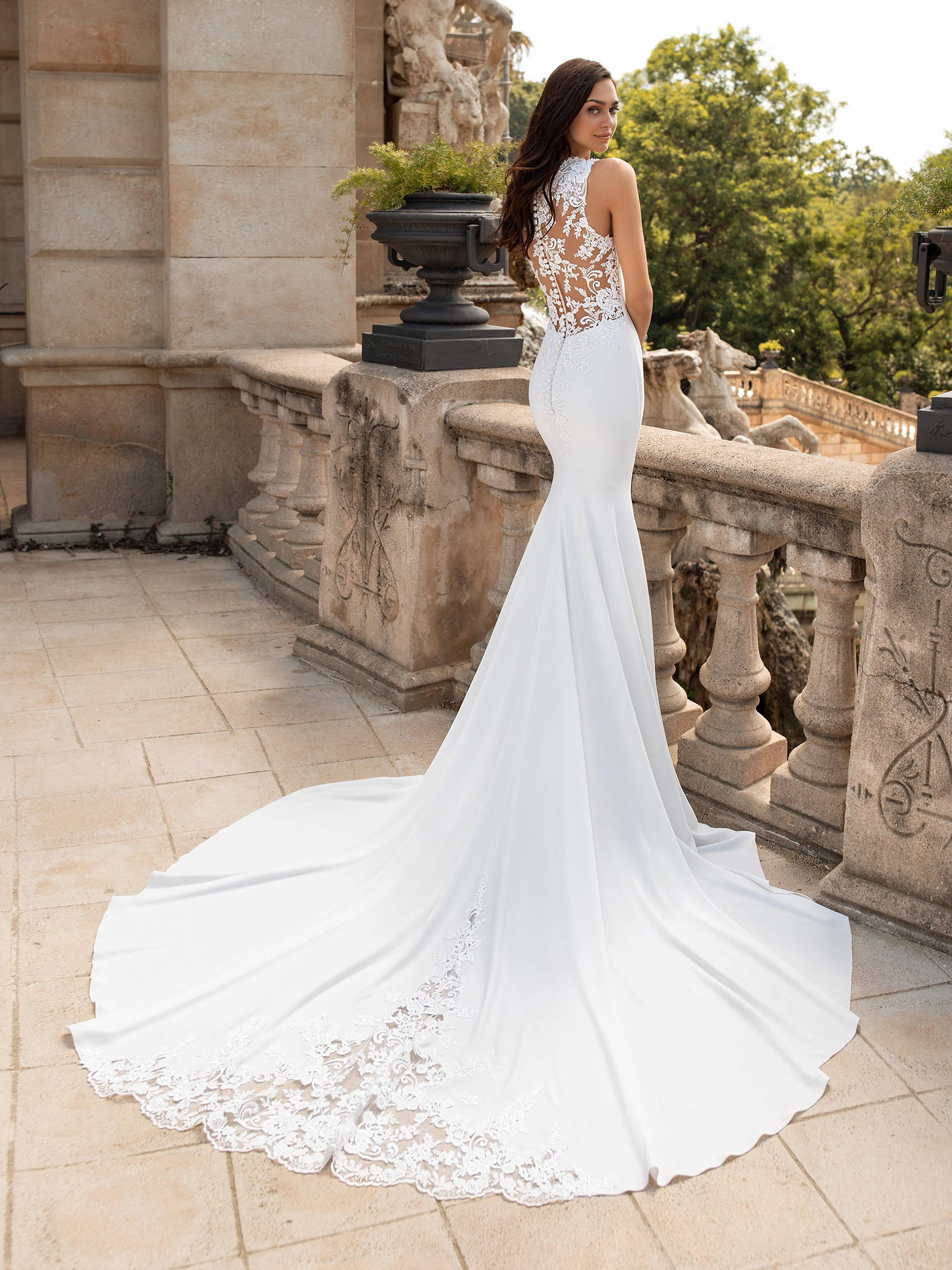 PRONOVIAS enol DRESS