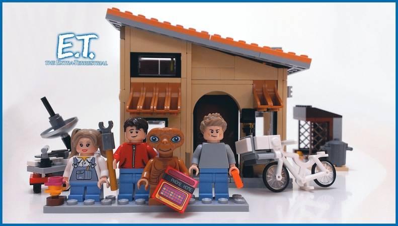 E.T. LEGO Set