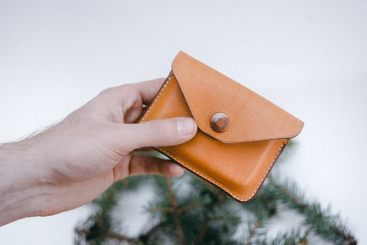 Кожаный кошелек Kompakt