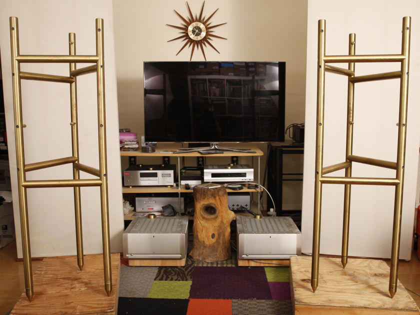 Mapleshade Avantgarde Duo Brass Stands  Discontinued!!