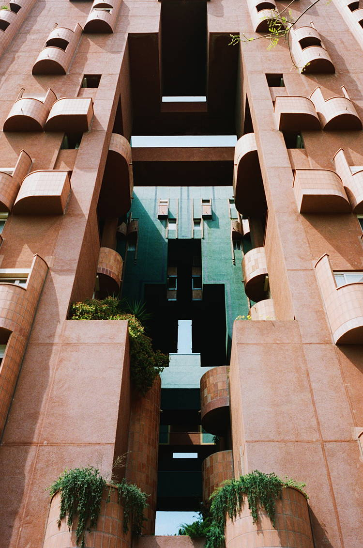 Walden 7 by Ricardo Bofill | Photographed by Hannah Davis for Wolf & Moon