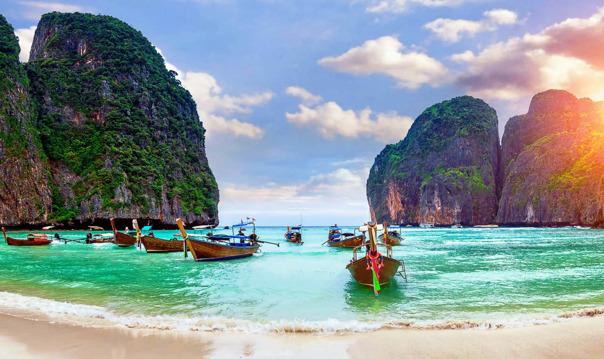 4 Острова Пхи Пхи, Бамбу, Кай и Майтон 1 день