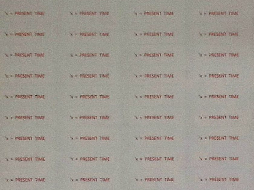 Machina Dynamica Morphic Message Labels (3 sheets 60 labels each) Clear labels in red ink for audio applications