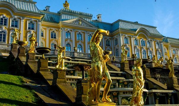 Петергоф (Нижний парк и фонтаны, дворец