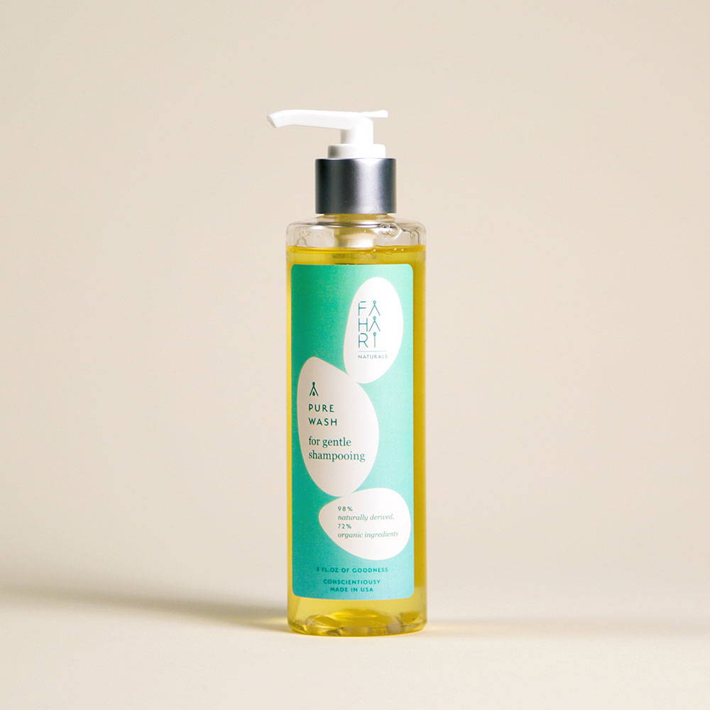 PURE WASH FOR GENTLE SHAMPOOING