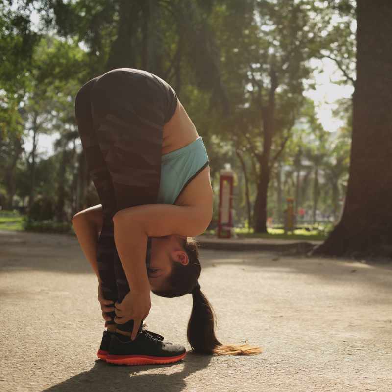Yoga Pose - Seawheeze festival
