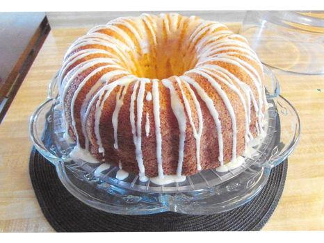 Linda's Famous Grand Marnier Cake.