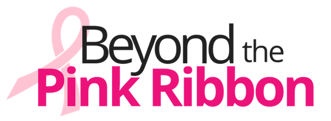 beyond the pink ribbon logo representing partnership with connected apparel on the survivor story blog