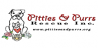 logo for our partner Pitties & Purrs Rescue Inc