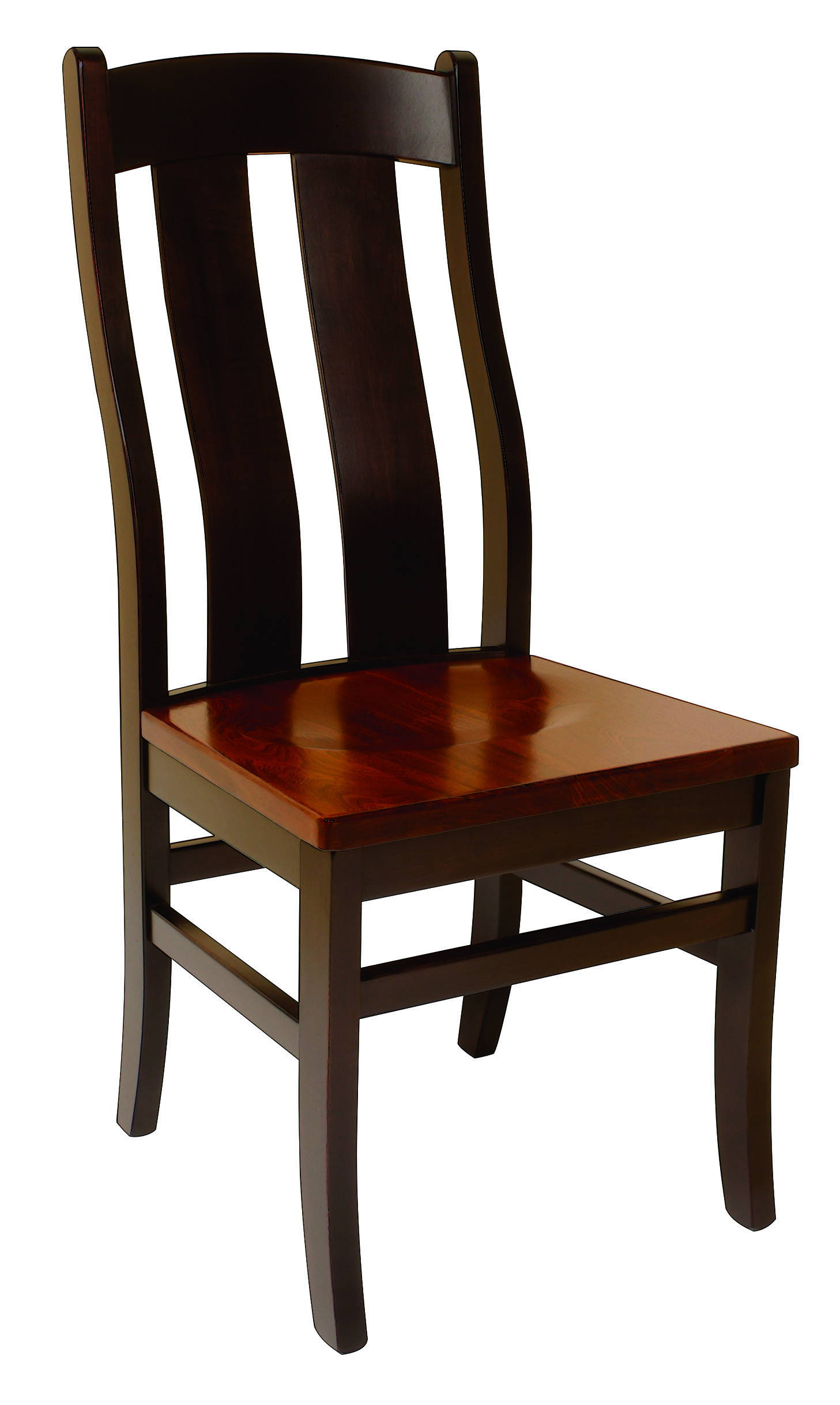 Arlington Solid Wood, Handcrafted Kitchen Chair or DIning Chair from Harvest Home Interiors Amish Furniture