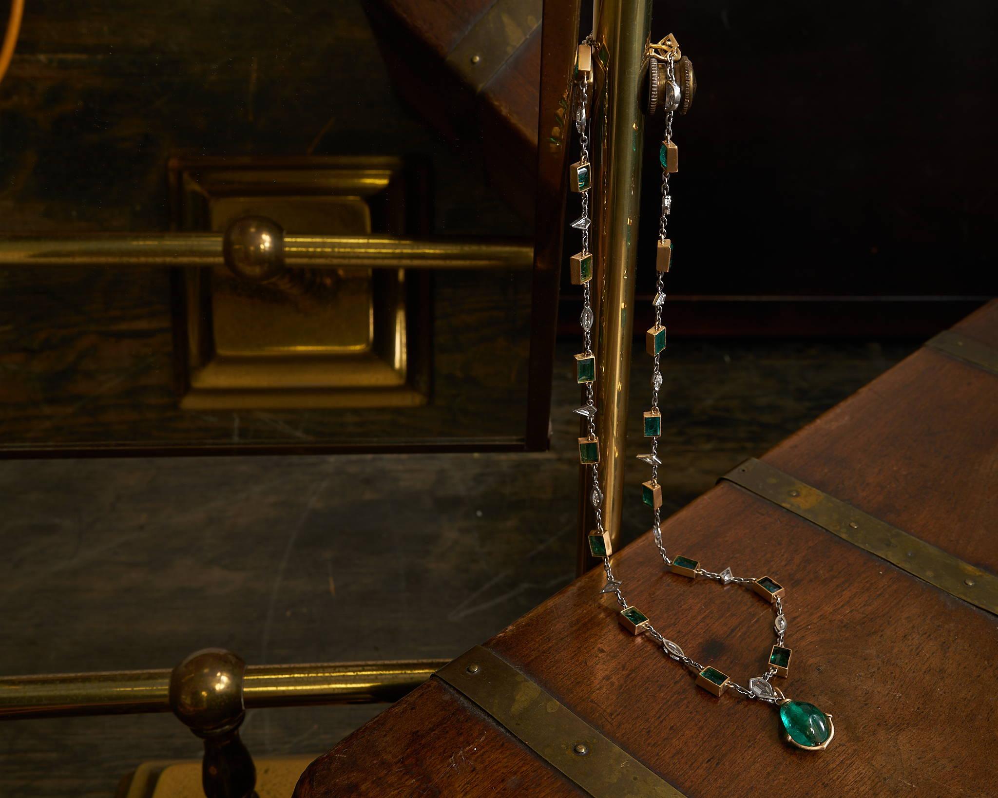 Jogani Emerald Necklace
